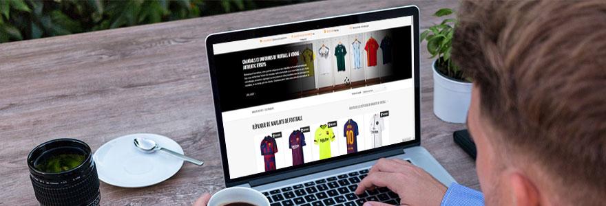 Football acheter les maillots des plus grandes equipes en ligne